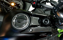 Load image into Gallery viewer, Real carbon fiber Fit Kawasaki Z650 front tank panel protector pads Trim overlay