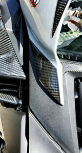 Fit Can-Am RYKER BRP 2019 Dry CARBON FIBER Front panel Accent trim kit