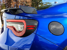 Load image into Gallery viewer, Real Carbon Fiber rear tail light trim kit Fit Subaru BRZ Toyota 86