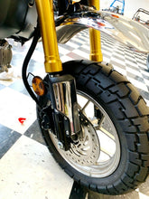 Load image into Gallery viewer, Fit Honda Monkey 125 2019 Chrome front forks guard panel cover trim &light trim
