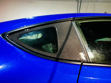 Load image into Gallery viewer, Real Carbon Fiber rear window glass overlay trim kit Fit Subaru BRZ Toyota 86