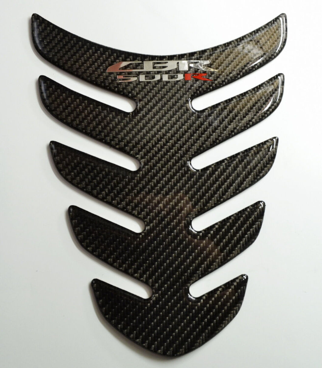 Fit Honda Real Carbon Fiber Motorcycle Tank Pad Sticker trim guard protector