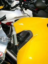 Load image into Gallery viewer, Fit Ducati 1098 dry Carbon Fiber key cover panel trim tank pad protector kit