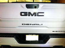 Load image into Gallery viewer, Dry Carbon Fiber Rear Emblem overlay trim kit Fit GMC Sierra 1500 Denali At4