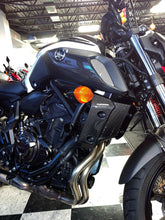 Load image into Gallery viewer, Real carbon fiber Fit Yamaha MT07 MT-07 radiator sides air wing fairing inserts