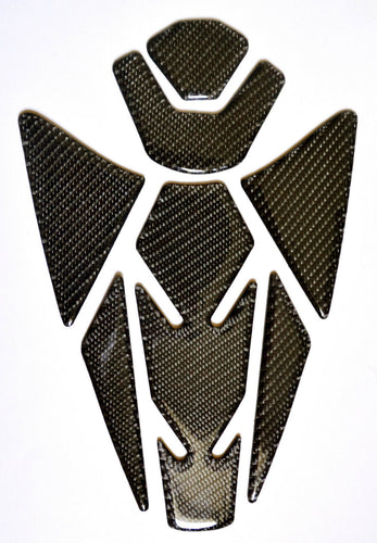 Authentic Carbon Fiber Tank Protector Pad Sticker fit Ducati Streetfighter S