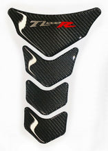 Load image into Gallery viewer, Fit Suzuki TL1000R TL Authentic Carbon Fiber Tank Protector Pad Sticker trim