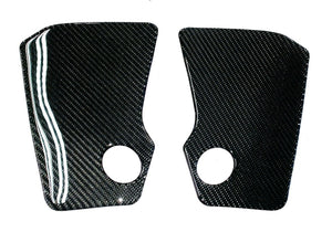 Real carbon fiber Fit Yamaha MT07 MT-07 knee traction pad protector KIT tank