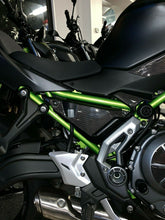 Load image into Gallery viewer, Real carbon fiber Fit Kawasaki Z650 sides brake liquid tank panel pads Trim