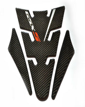Load image into Gallery viewer, Suzuki GSXS  Real Carbon Fiber Tank Protector Pad + Gas cap Trim sticker guard