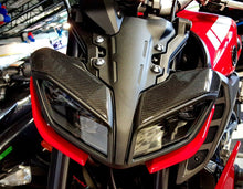 Load image into Gallery viewer, Fits Yamaha FZ09  MT09 2018  real carbon fiber front light Trim Sticker pad