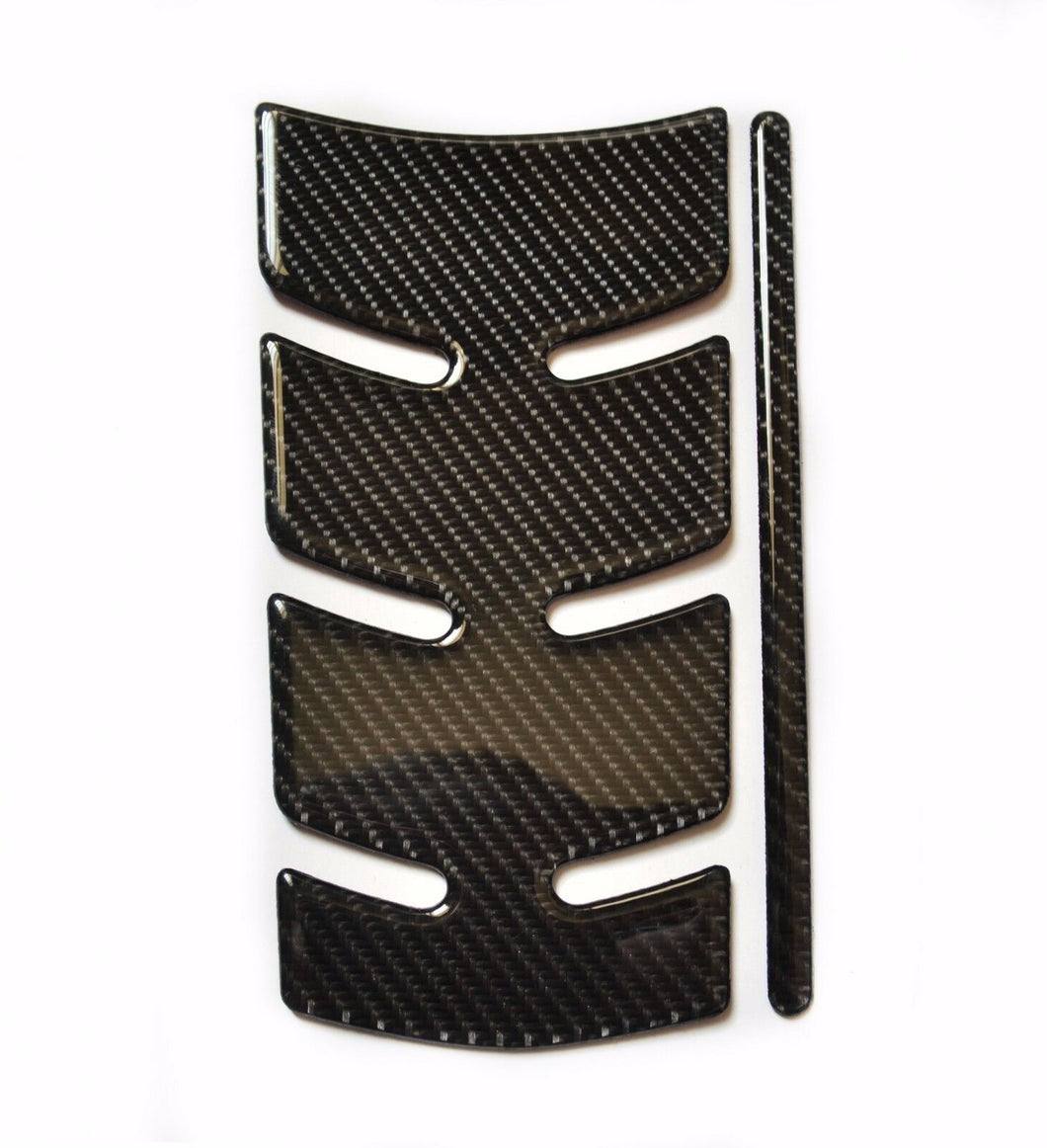 Real Carbon Fiber Tank Protector Pad Sticker with pads Fits K1200R K1300R