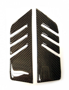 Fit Yamaha FZ10 MT-10 MT10 real carbon fiber sides knee grip Protector pad