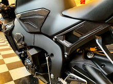 Load image into Gallery viewer, Fits Honda CBR1000RR real carbon fiber rear sub frame seat trim protector pads