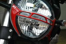 Load image into Gallery viewer, Fit DUCATI Monster 696 795 796 1100EVO Front Light Trim RED Pad Protector decal