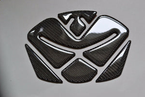 Carbon Fiber Motorcycle Tank Protector Pad for Ducati Diavel