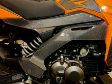 Load image into Gallery viewer, Fit Kawasaki Z125 Pro Dry CARBON FIBER sides fairing covers protector trim kit