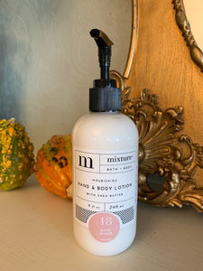 Mixture 8oz. Body Lotion