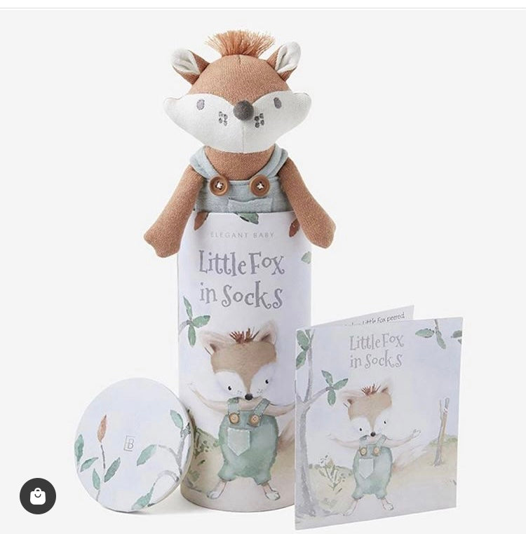 "10"" Felix the Fox w/ Book & Gift Box"