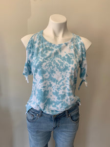 Open Sleeve Tie Dye Top