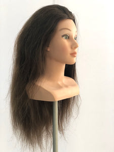 Lilly 100% Human Hair Mannequin
