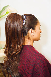 Zara - Silver Bridal Hair Accessory