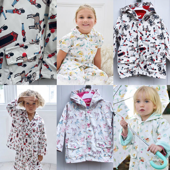 The PK Rainwear, Pjyamas & Accessories Range