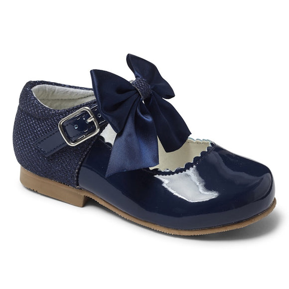 Kayla Navy Bow Shoes (Please see item description)