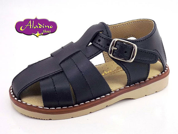 Spanish Boys Sandals Navy