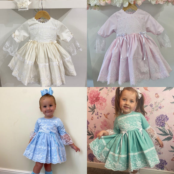 Princess Dress (IN ANY COLOUR) Exclusive to Bellos Boutique - Please read the description.