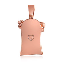 ST. MARKS JESUS PIECE (ROSE GOLD)