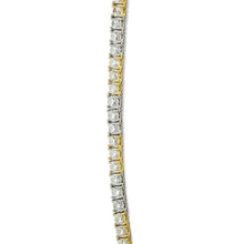 LEXINGTON TENNIS CHAIN (YELLOW/WHITE GOLD)