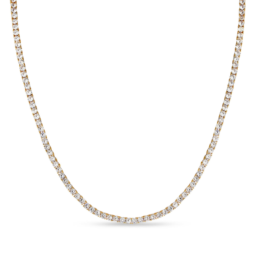 MADISON TENNIS CHAIN (YELLOW GOLD)