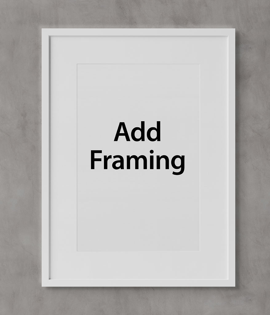 "Get framing for 22"" x 30"" art on paper"