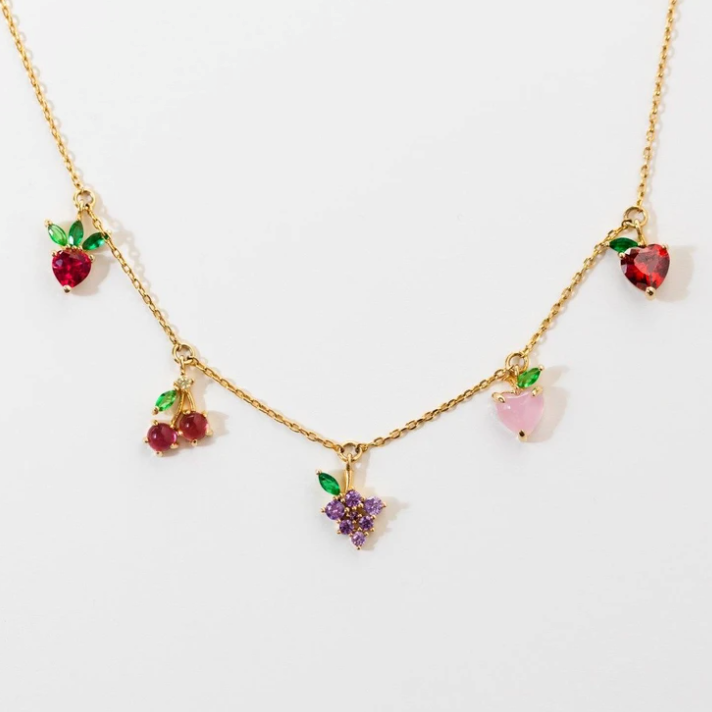 Fruity Choker Necklace