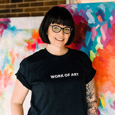 Work of Art t-shirt
