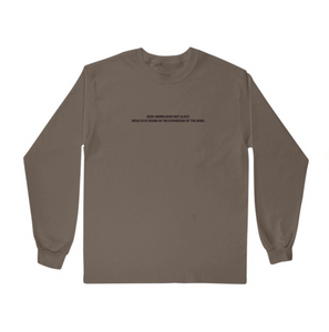 Seek Knowledge Not Clout Long Sleeve Tee