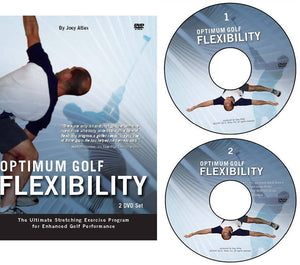 Optimum GOLF Flexibility 2-DVD Set by Joey Atlas