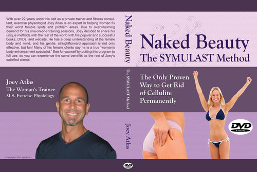 Naked Beauty - The SYMULAST Anti-Cellulite Method: DVD & Book Set w/ Bonuses