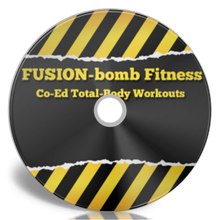 Load image into Gallery viewer, Co-Ed Total-Body Fusion Fitness 4-DVD Set
