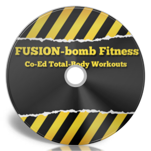 Co-Ed Total-Body Fusion Fitness 4-DVD Set
