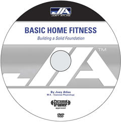 Basic Home Fitness DVD: Building Your Solid Foundation (Levels 1, 2 and 3)
