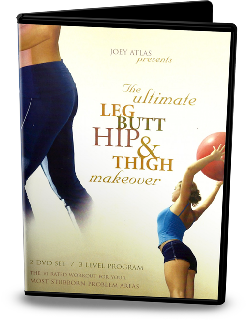 The Ultimate Leg, Butt, Hip, and Thigh Makeover 2-DVD Set w/ Bonuses