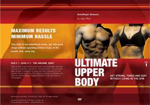 Ultimate Upper Body 3-DVD Set: 3-Level Bodyweight Fitness Training Program
