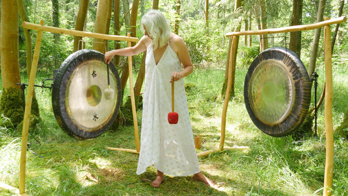 Gong Bath in the woods The Elemental Session