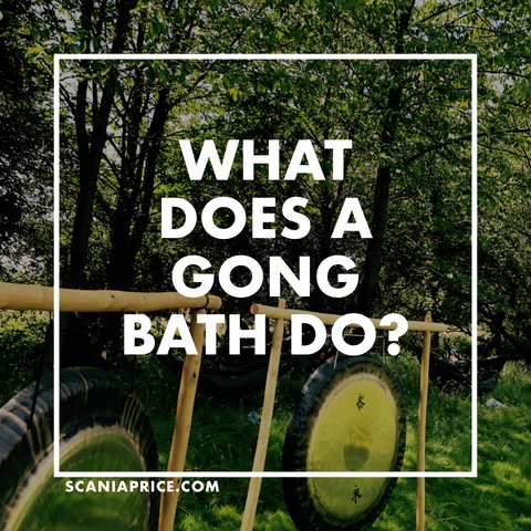 What does a Gong Bath do?