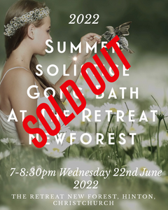 Full Moon Hammock & Tent Gong Bath at Gaunts House 4th July (1pm, 3pm, 5pm, 7pm)