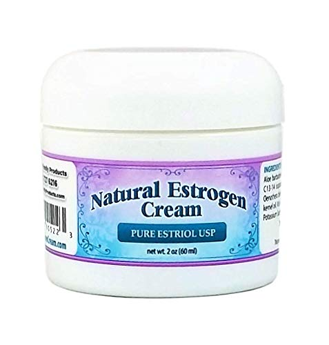 Natural Estrogen Cream - 2 oz Jar -  Estriol Cream