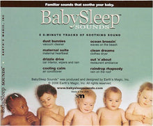 Load image into Gallery viewer, BabySleep Sounds - White Noise CD for Babies
