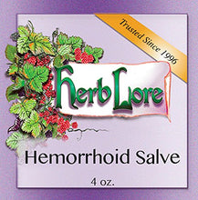 Load image into Gallery viewer, Herb Lore Organic Hemorrhoid Ointment